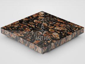 Плитка из Брусиловского гранита 300x300x30 полированная фото