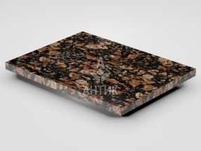 Плитка из Брусиловского гранита 400x300x20 полированная фото