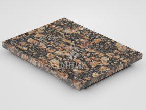 Плитка из Брусиловского гранита 400x300x20 термообработанная фото