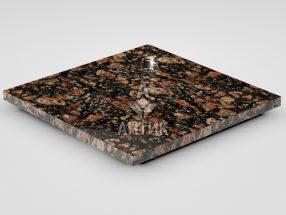 Плитка из Брусиловского гранита 400x400x20 полированная фото