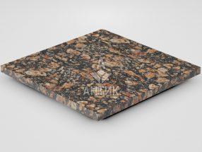 Плитка из Брусиловского гранита 400x400x20 термообработанная фото