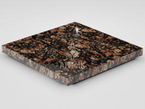 Плитка из Брусиловского гранита 400x400x30 полированная фото