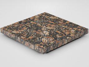 Плитка из Брусиловского гранита 400x400x30 термообработанная фото