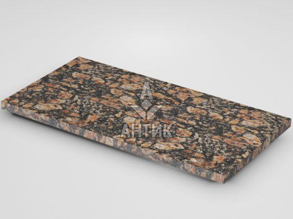 Плитка из Брусиловского гранита 600x300x20 термообработанная фото