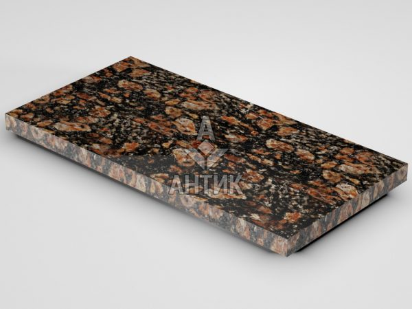 Плитка из Брусиловского гранита 600x300x30 полированная фото