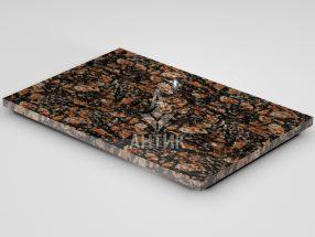 Плитка из Брусиловского гранита 600x400x20 полированная фото