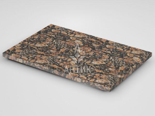 Плитка из Брусиловского гранита 600x400x20 термообработанная фото