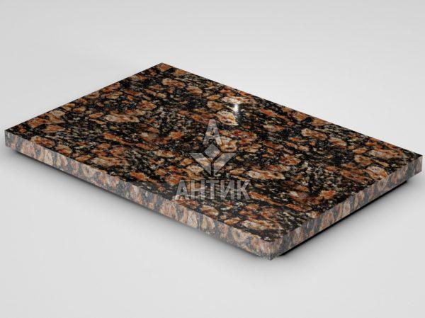 Плитка из Брусиловского гранита 600x400x30 полированная фото