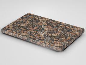 Плитка из Брусиловского гранита 600x400x30 термообработанная фото