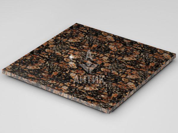 Плитка из Брусиловского гранита 600x600x20 полированная фото