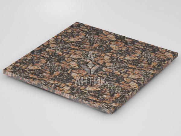 Плитка из Брусиловского гранита 600x600x20 термообработанная фото