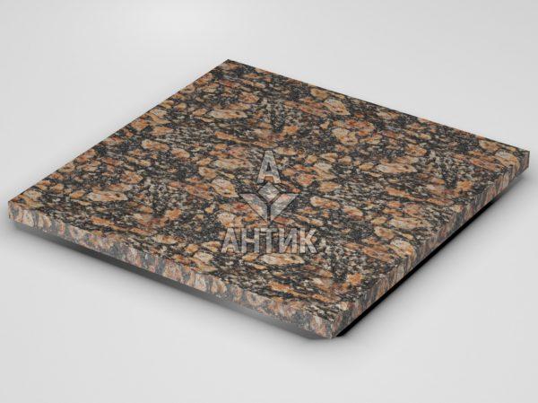 Плитка из Брусиловского гранита 600x600x30 термообработанная фото