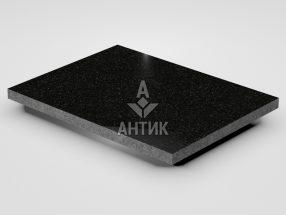 Плитка из Букинского габбро 400x300x20 полированная фото