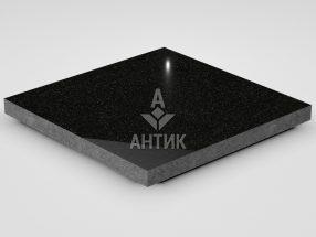 Плитка из Букинского габбро 400x400x30 полированная фото