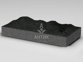 Плитка из Букинского габбро 600x300x80 колотая фото