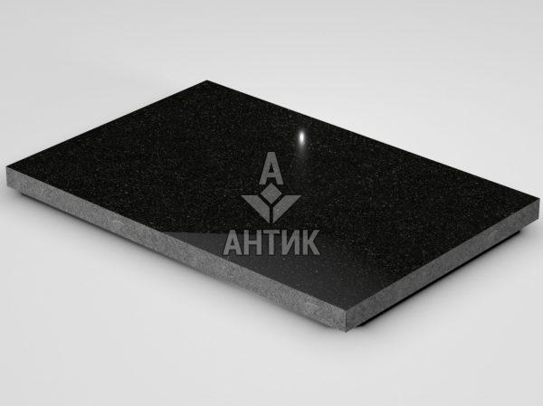 Плитка из Букинского габбро 600x400x30 полированная фото