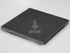 Плитка из Букинского габбро 600x600x30 термообработанная фото