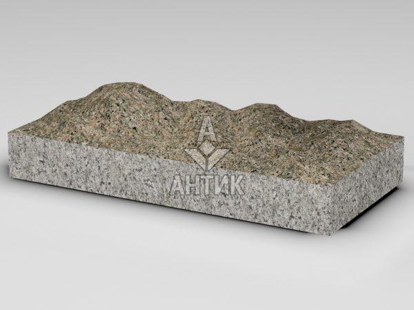 Плитка из Дидковичского гранита 600x300x80 колотая фото