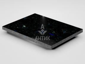 Плитка из Добрынского лабрадорита 400x300x20 полированная фото