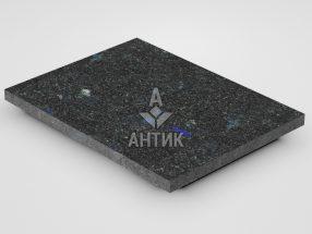 Плитка из Добрынского лабрадорита 400x300x20 термообработанная фото