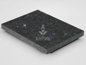Плитка из Добрынского лабрадорита 400x300x30 термообработанная фото