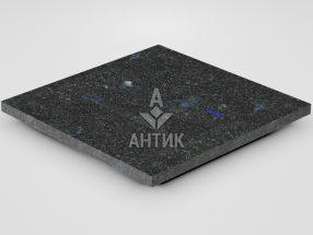 Плитка из Добрынского лабрадорита 400x400x20 термообработанная фото