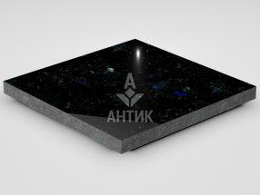Плитка из Добрынского лабрадорита 400x400x30 полированная фото