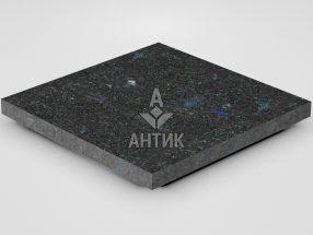 Плитка из Добрынского лабрадорита 400x400x30 термообработанная фото