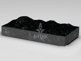 Плитка из Добрынского лабрадорита 600x300x80 колотая фото