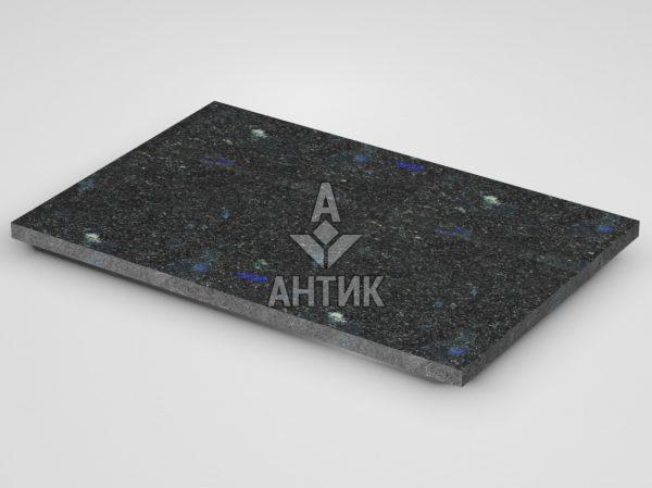 Плитка из Добрынского лабрадорита 600x400x20 термообработанная фото