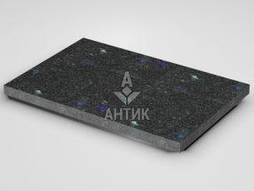Плитка из Добрынского лабрадорита 600x400x30 термообработанная фото