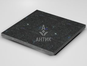 Плитка из Добрынского лабрадорита 600x600x30 термообработанная фото