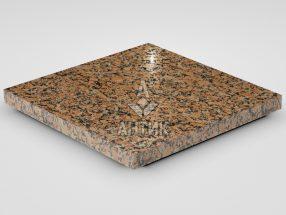 Плитка из Емельяновского гранита 400x400x30 полированная фото