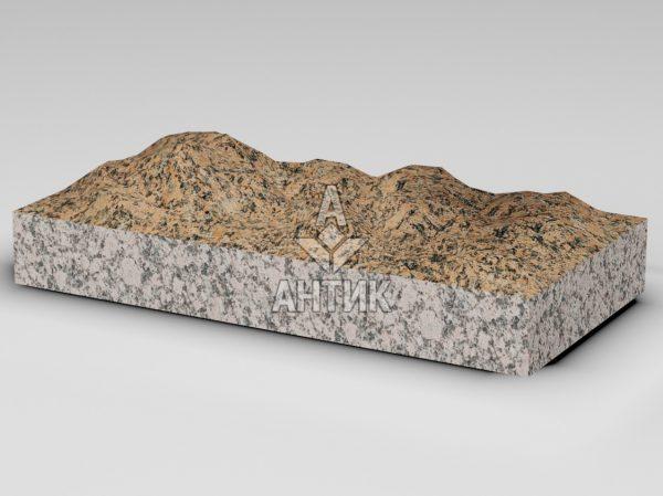 Плитка из Емельяновского гранита 600x300x80 колотая фото