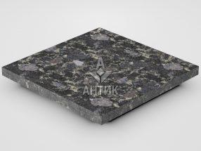 Плитка из Головинского лабрадорита 300x300x20 термообработанная фото