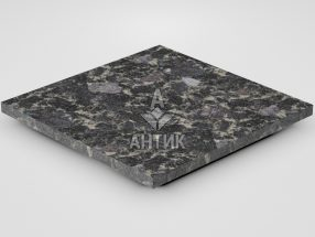 Плитка из Головинского лабрадорита 400x400x20 термообработанная фото