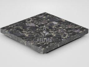 Плитка из Головинского лабрадорита 400x400x30 термообработанная фото