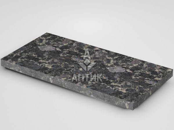 Плитка из Головинского лабрадорита 600x300x30 термообработанная фото