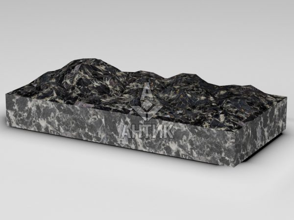 Плитка из Головинского лабрадорита 600x300x80 колотая фото
