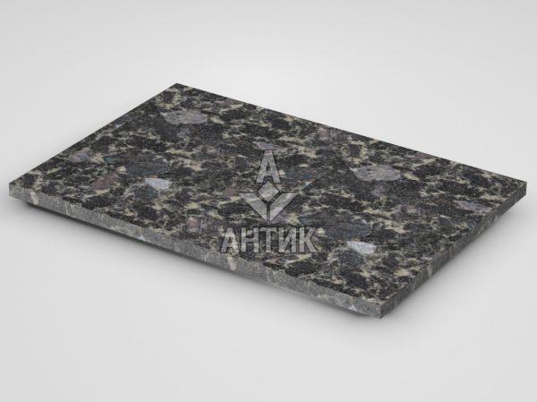 Плитка из Головинского лабрадорита 600x400x20 термообработанная фото