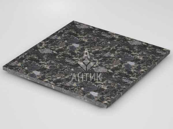 Плитка из Головинского лабрадорита 600x600x20 термообработанная фото