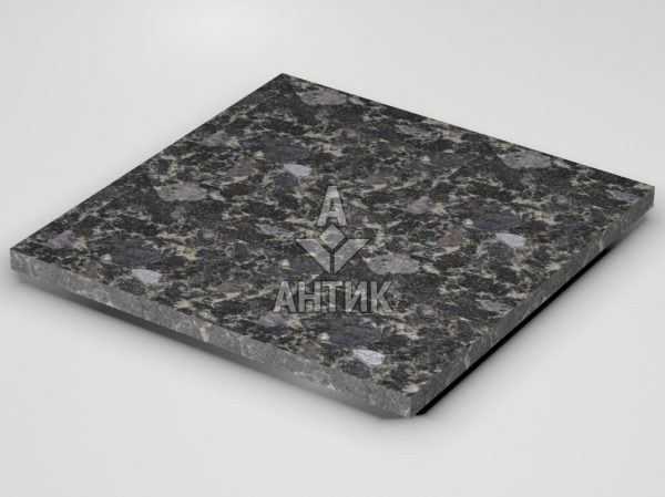 Плитка из Головинского лабрадорита 600x600x30 термообработанная фото
