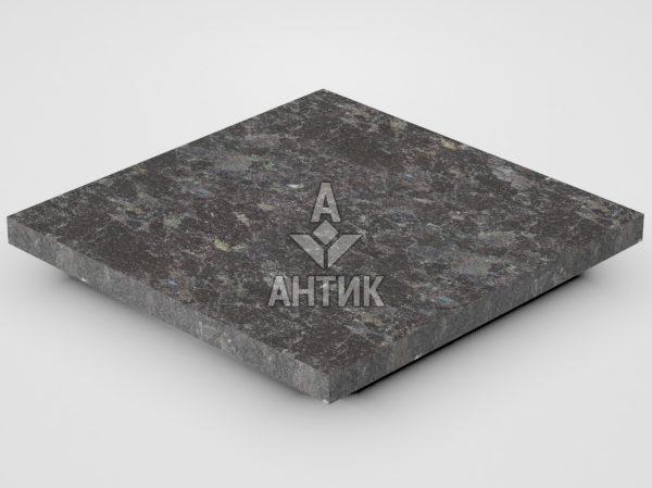 Плитка из Горбулевского лабрадорита 300x300x20 термообработанная фото
