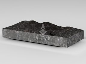 Плитка из Горбулевского лабрадорита 400x200x50 колотая фото