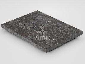Плитка из Горбулевского лабрадорита 400x300x20 термообработанная фото