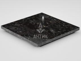 Плитка из Горбулевского лабрадорита 400x400x20 полированная фото