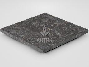 Плитка из Горбулевского лабрадорита 400x400x20 термообработанная фото