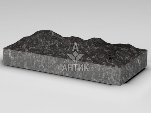 Плитка из Горбулевского лабрадорита 600x300x80 колотая фото