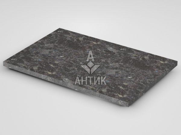 Плитка из Горбулевского лабрадорита 600x400x20 термообработанная фото