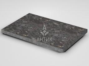 Плитка из Горбулевского лабрадорита 600x400x30 термообработанная фото